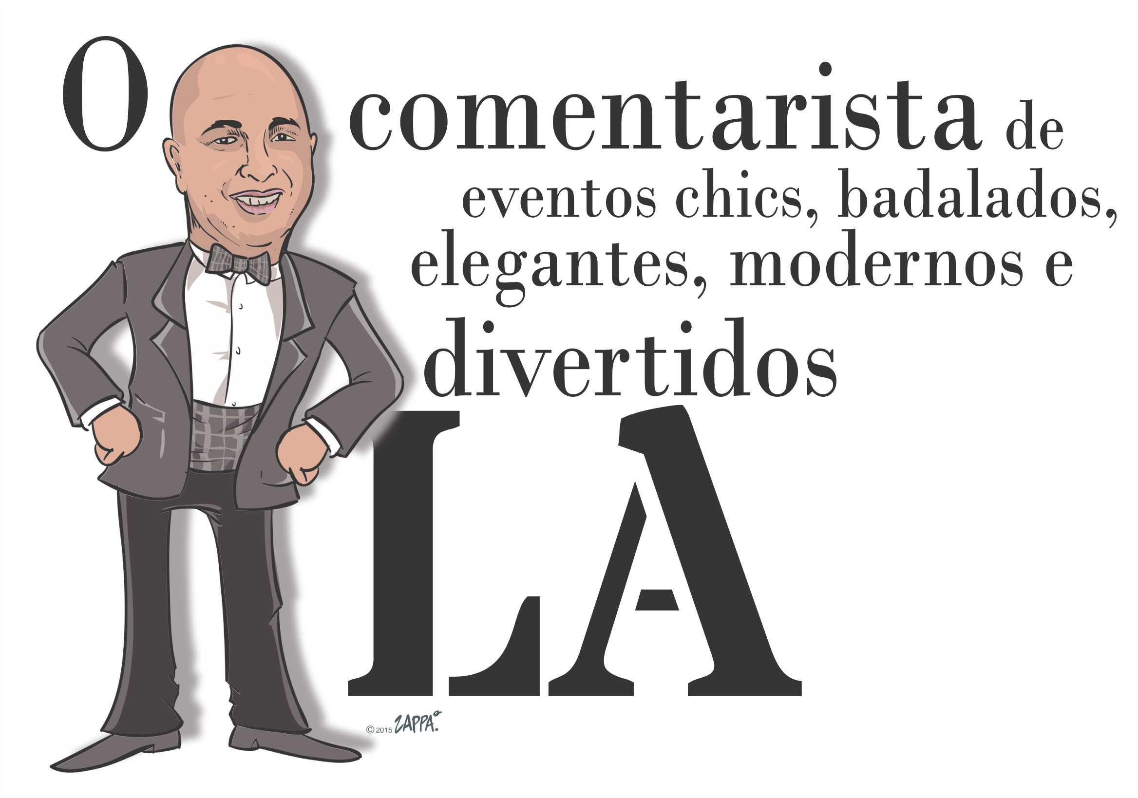 Caricatura Luiz Alberto