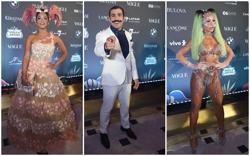 Baile da Vogue 2020. Veja os looks dos famosos