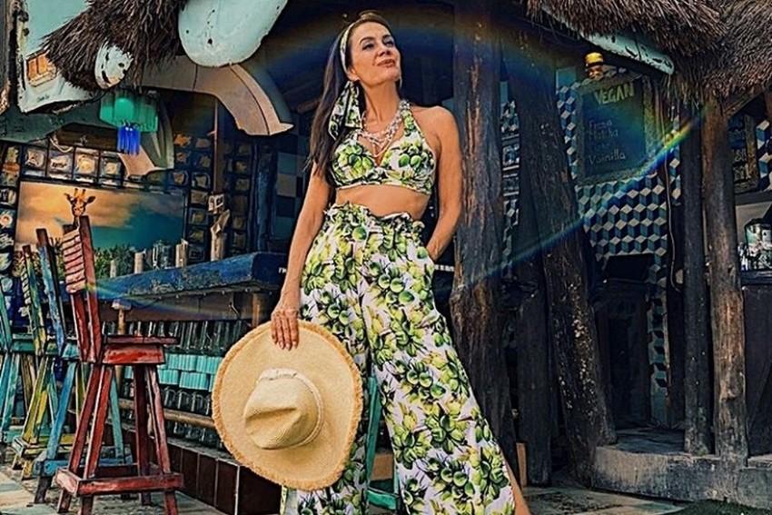 Claudia Métne em fashion trip no México visita a cidade de Tulum