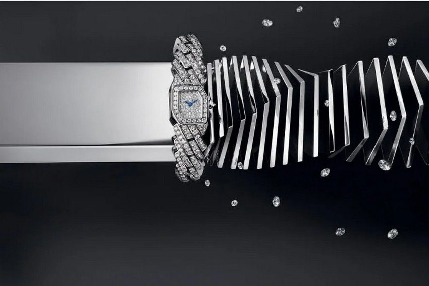 Como os relógios Chanel, Chaumet, Piaget, Cartier, Vacheron Constantin e Van Cleef & Arpels captam a luz - com diamantes, safiras e rubis
