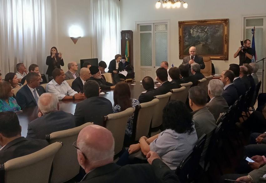 Espírito Santo ganha escritório da Câmara Brasil-Rússia de Comércio, Indústria e Turismo