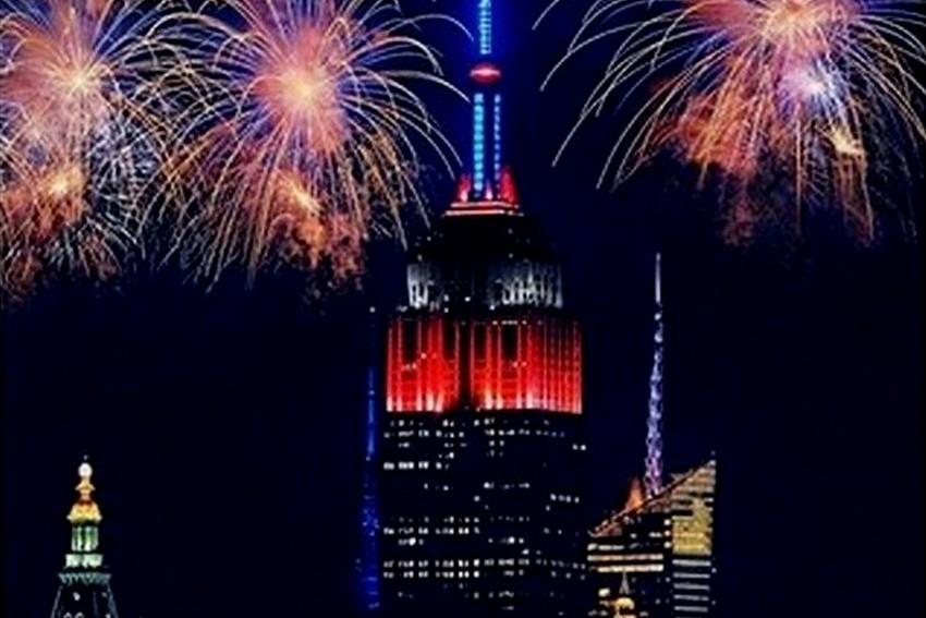 Empire State Building faz celebração exclusiva de 4 de Julho