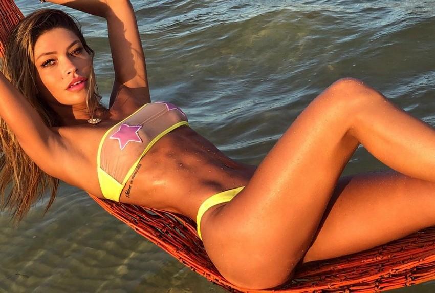 Modelo fitness Diana Villas Boas assina coleção