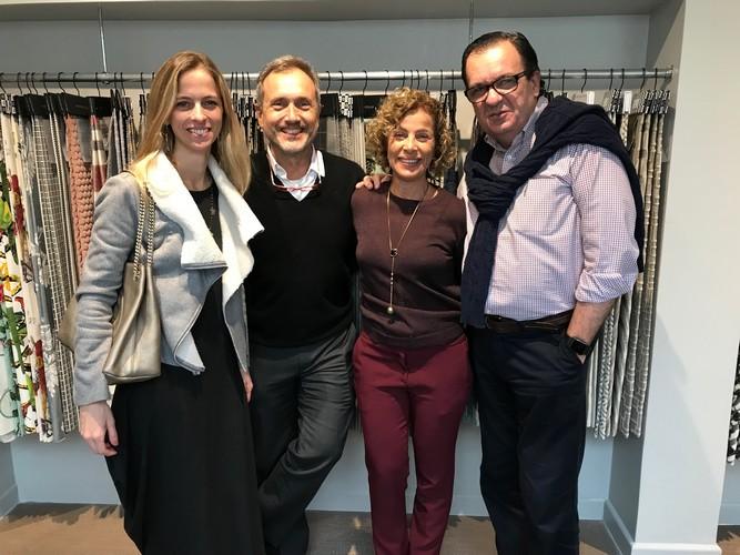 Safira Tecidos lança Coleção 2018 em concorrido evento