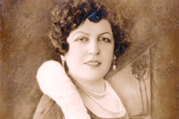 Quadro de Dona Adma Jafet - Acervo do Centro de Memória do Hospital Sírio-Libanês
