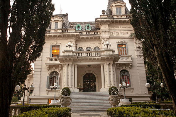 Palacete onde residiu o casal Chedid e Violeta Jafet a partir de 1934