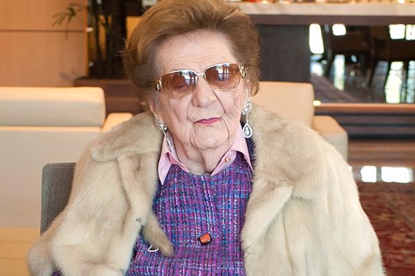Violeta Jafet, falecida em 2016, foi presidente da Sociedade Beneficente de Senhoras do Hospital Sírio-Libanês durante 50 anos