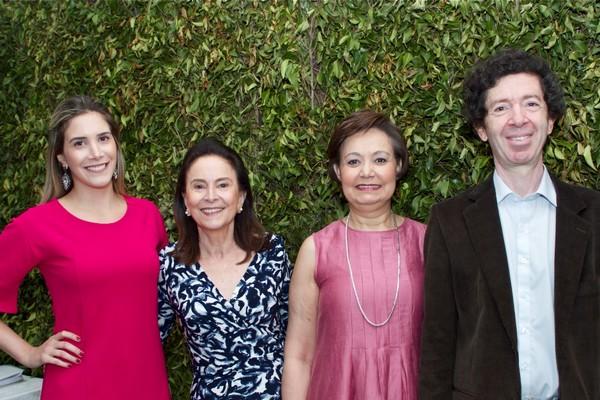 Parte da comissão de organização da festa, os primos Carolina Fontes Jafet, Vera Jafet Kehdi, Rita de Cássia Yazbek e Marcos Jafet Daud