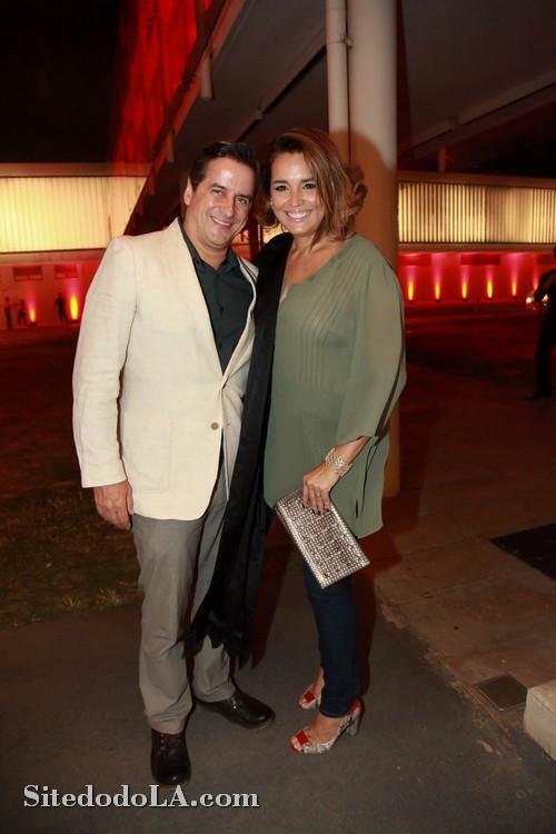 Suzy Rego e o marido, Fernando Vieira