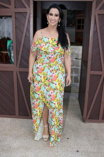 A apresentadora Fabiola Gadelha