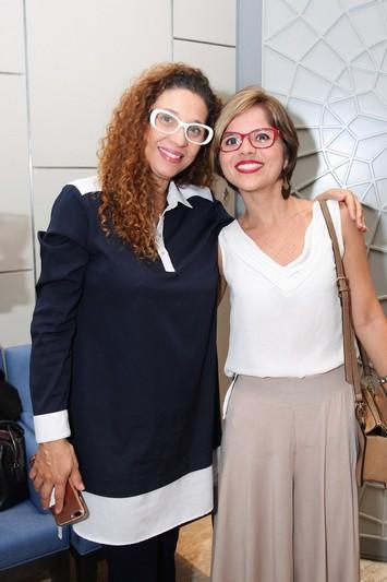 Abbadhia Vieira e Roberta Nascimento