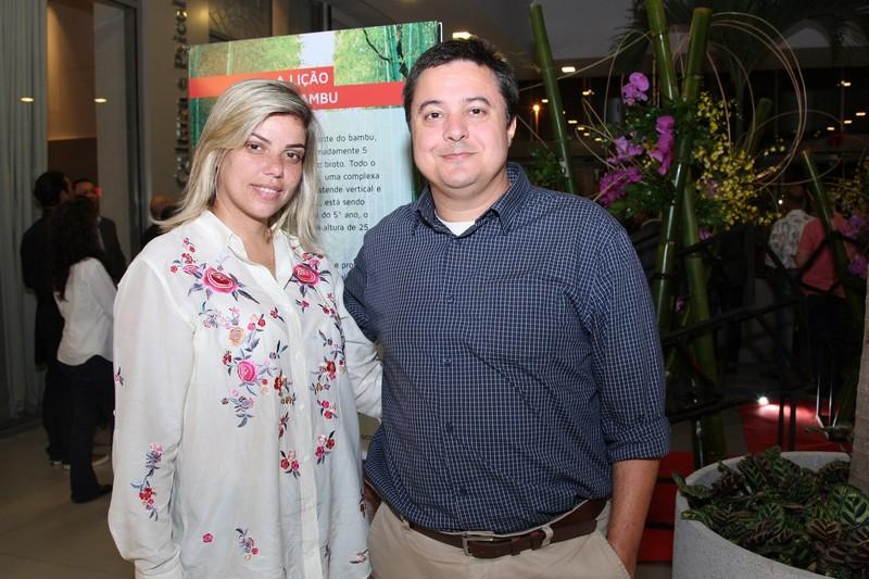 Ana Paula Granha e Marcelo Marejo