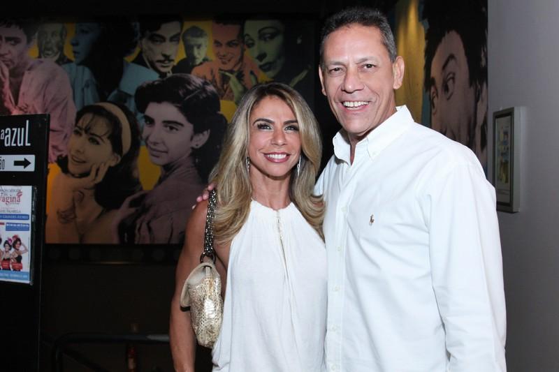 Andrea Coelho e Sylvio guerra