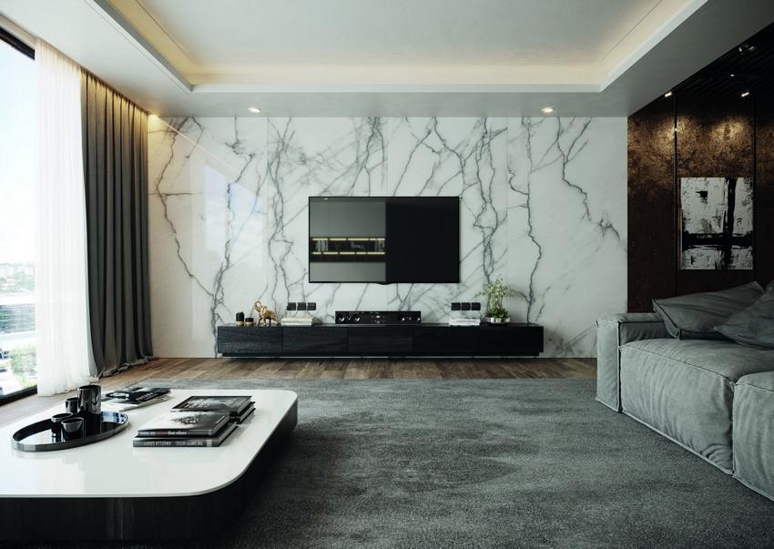 Porcelanatos em grande formato para além dos pisos