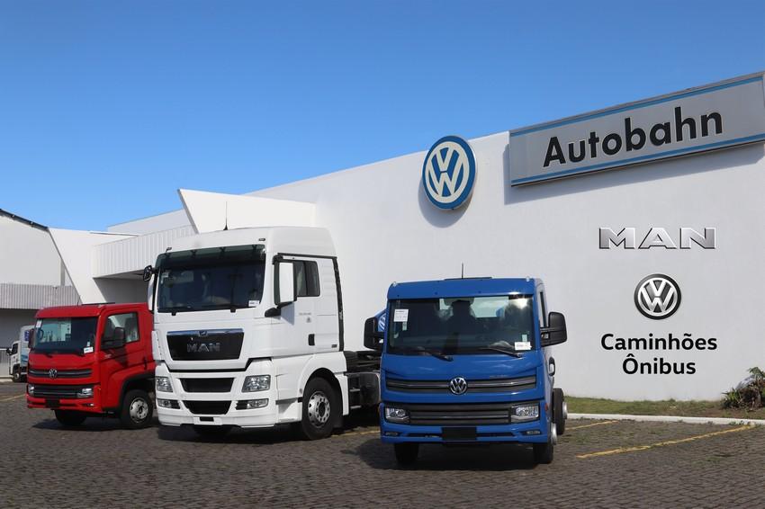 Autobahn Caminhões comemora aquecimento de vendas dos caminhões VW e MAN