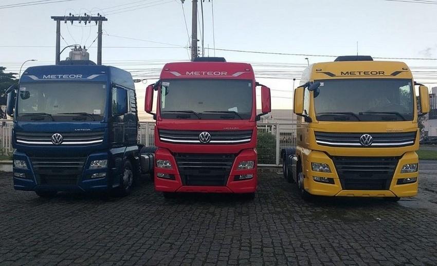 Autobahn Caminhões recebe novos e coloridos Meteor
