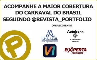 Anúncio Banner cobertura carnaval instagram