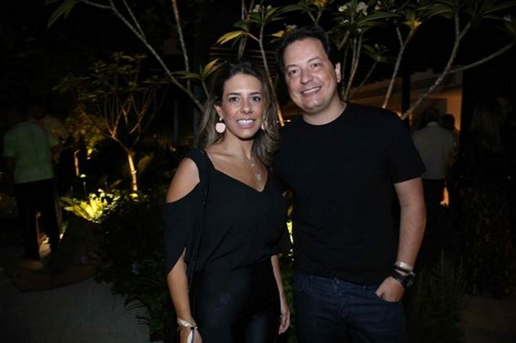 Bruna Ximenes e André Leite