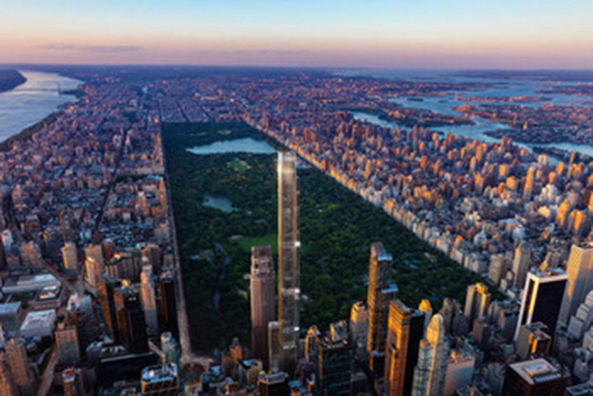 Central Park Tower, o edifício residencial mais alto do mundo