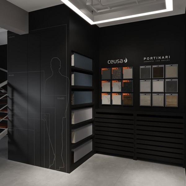 Ceusa e Portinari apresentam Smart Store, formato inovador para escolha e compra de revestimentos