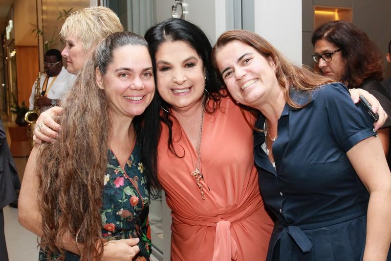 Cristina Martuscelli, Heloisa Raso e Thaiza Ruiz