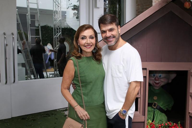 Danilo Faro com a mãe Vera