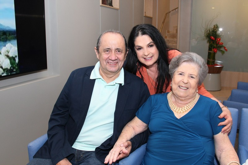 Demar, Heloisa e Gilda Raso