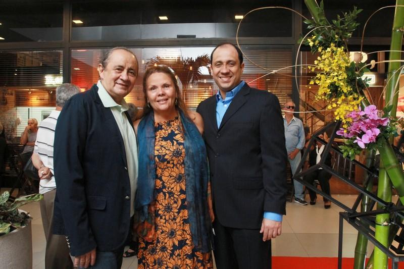 Demar, Roseane Ribeiro e Fabio de Melo