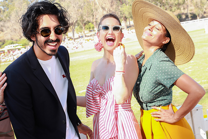 Dev Patel, Kate Hudson, e Tracee Ellis Ross
