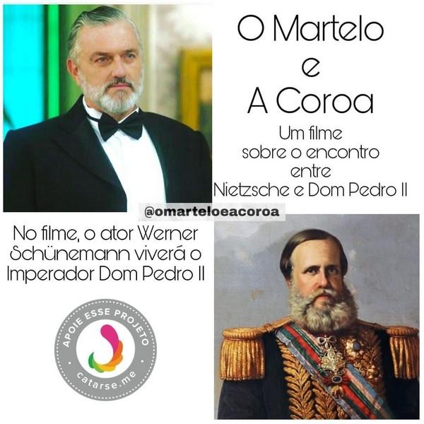 O Martelo e a Coroa, um diálogo entre o filósofo Nietzsche e o Imperador Dom Pedro II