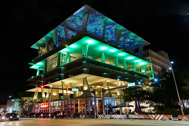 O incrível Eden by Perrier-Jouet in Miami