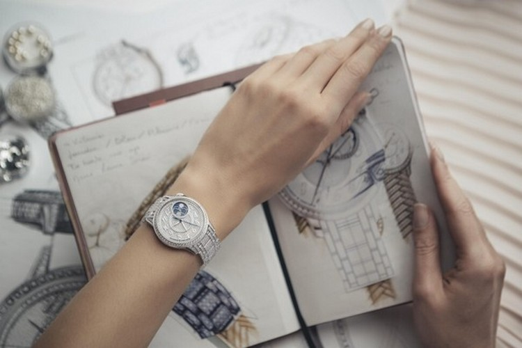 Égérie Moon Phase Jewellery watch-Foto Vacheron Constantin