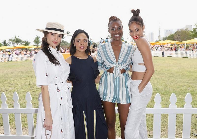 Eiza Gonzalez, Tessa Thompson, Issa Rae e Joan Smalls