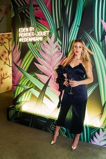 Ellie Goulding at Eden by Perrier-Jouet