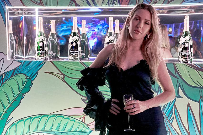 Baile do Eden realça a natureza mais íntima de Ellie Goulding