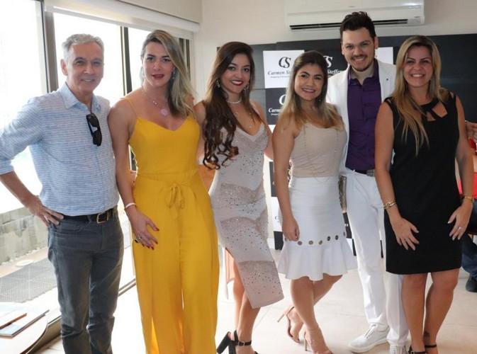 Equipe CVC Shopping Rio Desing e o Travel Designer Andre Herdy