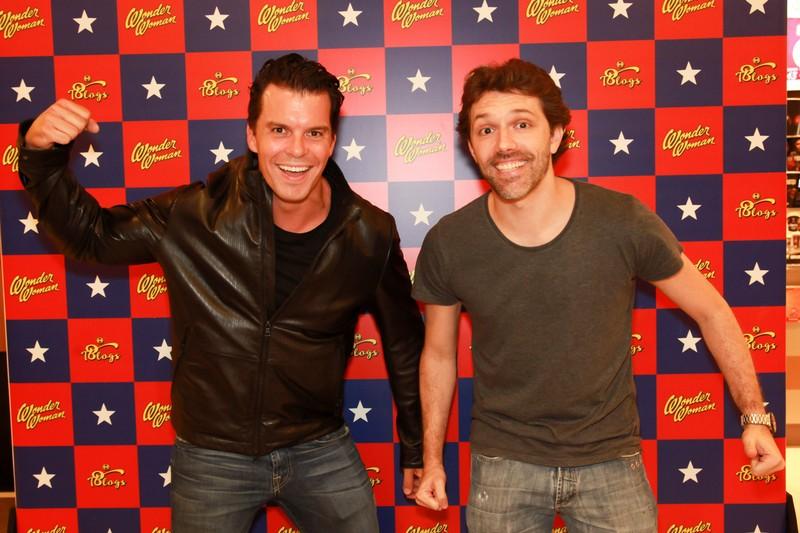 Felipe Colameri e Caio Dominguez