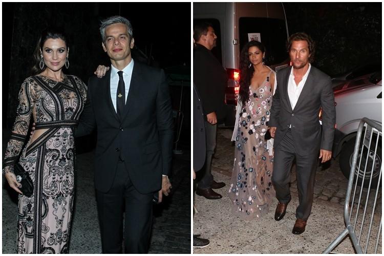 Flávia Alessandra e Otaviano Costa. Matthew McConaughey e Camila Alves