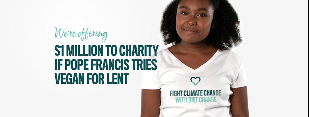Campanha mundial oferece US$ 1 milhão para o Papa Francisco