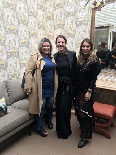 Giselle Martos, Karina La Farina e Patricia Hagobian