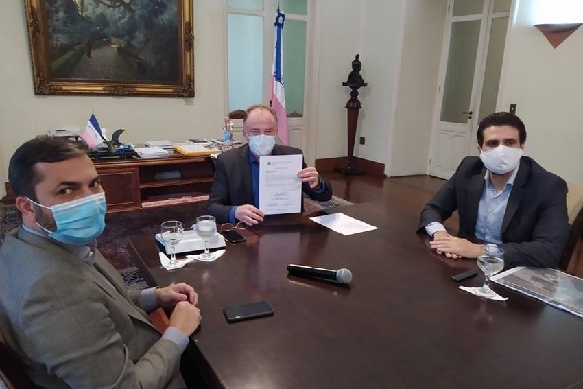 Governo do estado do Espírito Santo  autoriza início das obras de ampliação da Terceira Ponte