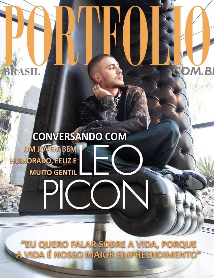 Leo Picon, um jovem bem humorado, feliz e muito querido