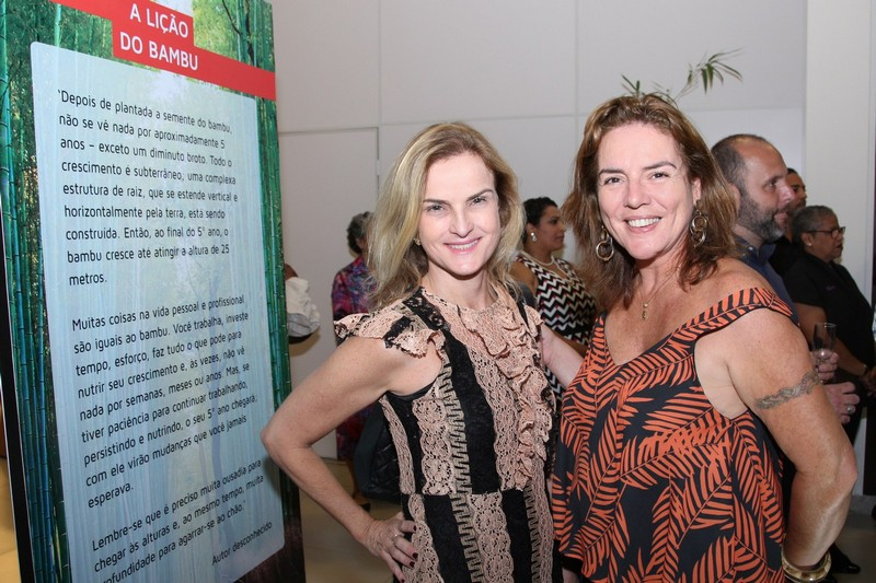 Liane Michele e Claudia Rodrigues