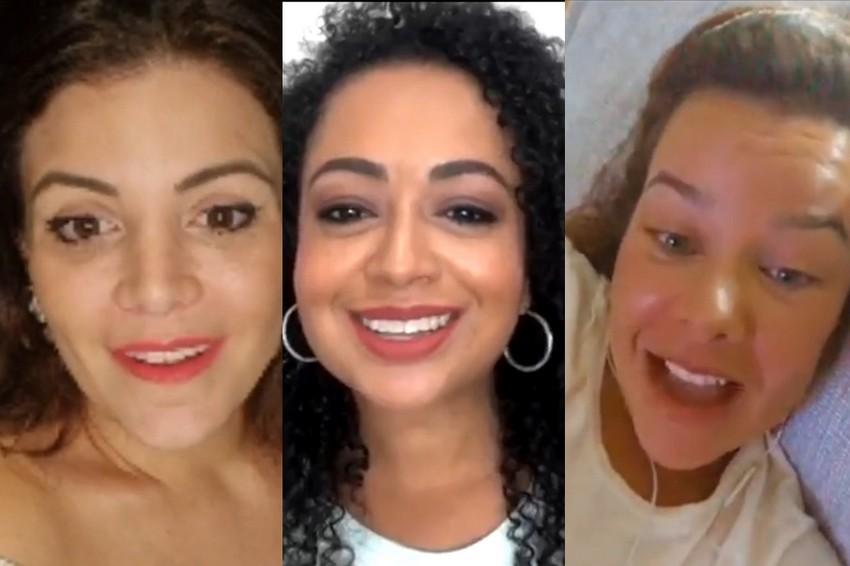Fernanda Souza, Renata Del Bianco e Aretha Oliveira falam sobre documentário sobre Chiquititas