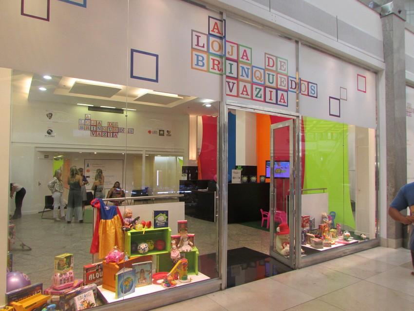 Nova edição da Loja de Brinquedos Vazia no Shopping Vitória