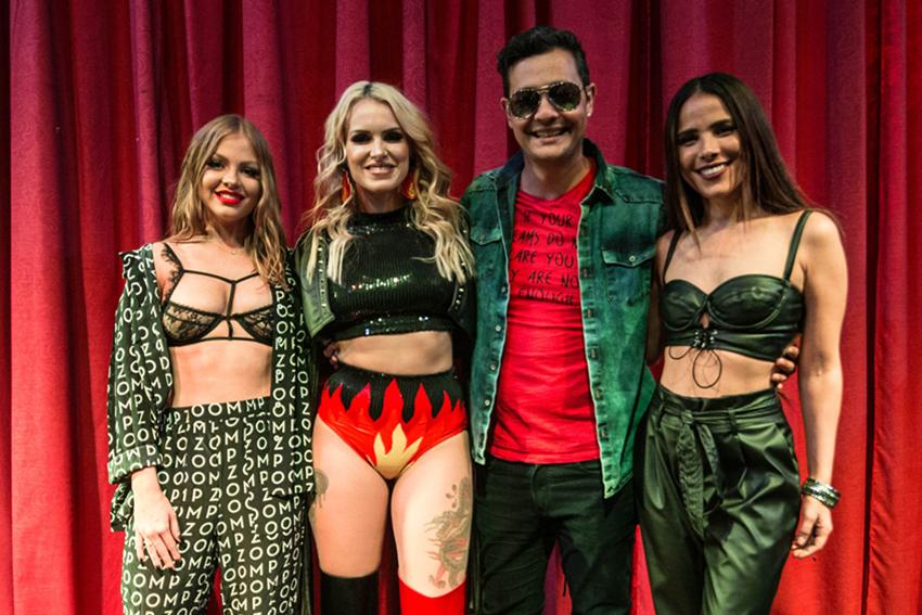 Francinne lança EP com show no Burlesque Paris 6