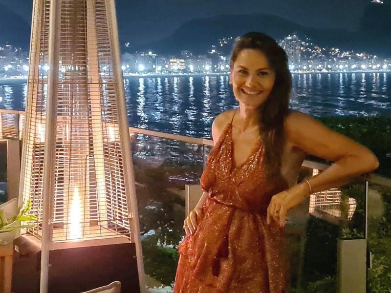 Magda Cotrofe comemora seu aniversário no Hotel Fairmont