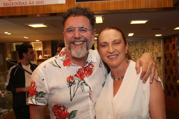 Marcello Bosschar e Débora Olivieri