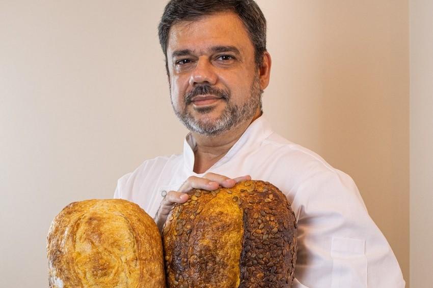 Marcelo Horta, Chef e mestre padeiro, fabrica os melhores pães artesanais com fermentação natural do Rio