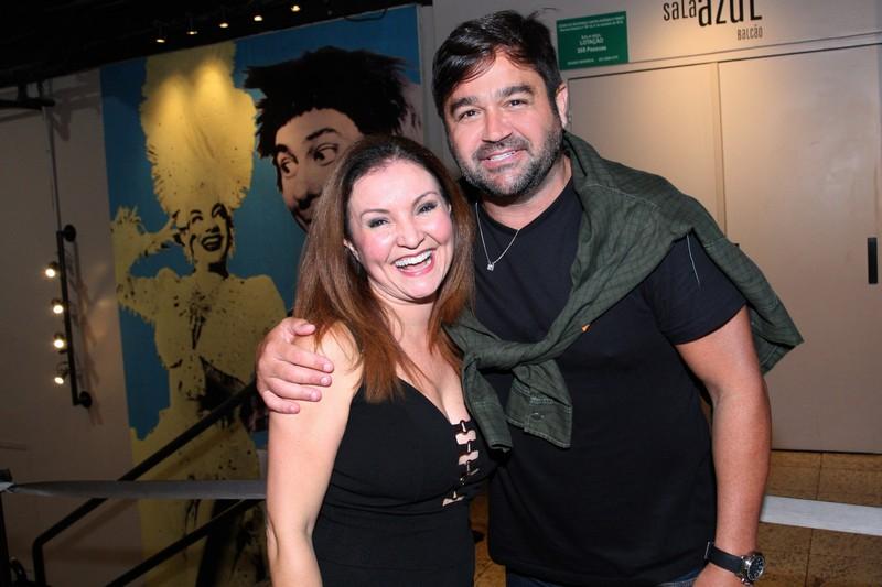 Maximiliana Reis e Alessandro Anes